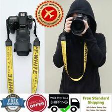 Best Fashion-off-White-Shoulder-Belt-Neck-Strap-Holder-for-Camera-FREE SHIPPIN
