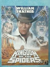 Kingdom Of The Spiders (RARE Code Red Blu-Ray W/ Slipcover William Shatner) New