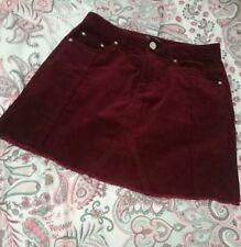 Women's cord short skirt
