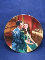 WS George Gone with the Wind Dreams of Ashley Collector Plate 22K 39-1