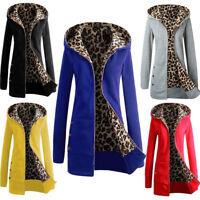 Womens Ladies Winter Long Thicken Hooded Coat Parka Warm Jacket Outwear Overcoat