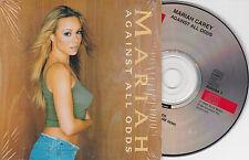 CD CARTONNE CARDSLEEVE 2T MARIAH CAREY AGAINST ALL ODDS 2000
