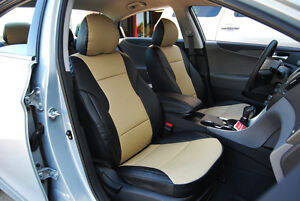 INFINITI G25 2007-2013 IGGEE S.LEATHER CUSTOM FIT SEAT COVER 13 COLORS AVAILABLE