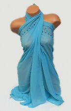 NEW FANTASIE ONE SIZE LAGOON/BLUE FASHIONABLE BEACH WRAP/COVER UP LADIES/WOMENS!