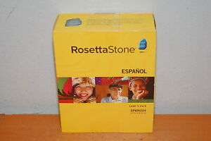 Rosetta Stone Spanish (Latin America) Levels 1-3, Version 3 for PC, Mac