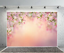 5x3ft Vinyl Photo Backdrops Pink Cherry Baby Photography Background