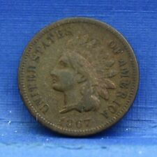 1867 INDIAN HEAD SMALL CENT VERY GOOD VG