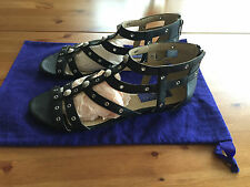 Jimmy Choo for H&M Schuhe Sandalen Gladiatoren Schwarz EUR Gr. 40 US 9 UK 7