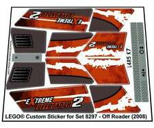 Lego® Custom Pre-Cut Sticker for Technic Off Road set 8297 - Off Roader (2008)