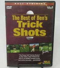 BEN WITTER - THE BEST OF BEN'S TRICK SHOTS: BALL STRIKING DVD, GOLF SWING FUNDA.