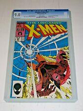 Uncanny X-Men #221 CGC 9.0 White Marvel 1st Print 1st Mr Sinister No Slab READ