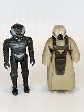 1981 1982 Vintage Star Wars Action Figures 4-Lom Zuckuss Original Bounty Hunters