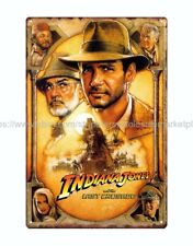 indiana jones and the last crusade metal tin sign garage decoration