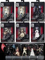 Hasbro Star Wars 40th Anniversary Black Series Titanium Die Cast Figure Case W1