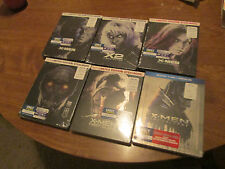 X-MEN APOCALYPSE ,X2 UNITED SET Complete 6 Steelbook Best Buy LIMITED EDITION