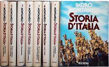 STORIA D'ITALIA Indro Montanelli 8 vol. RIZZOLI 1979 completa