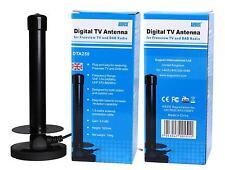 3.0dBi High Gain Digital Antenna Portable Freeview HD DVB-T TV Aerial /DAB Radio