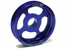 Blue Crank Pulley Underdrive For 03-07 Accord 04-08 TSX 02-04 RSX Type-S By OBX