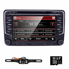 Camera+VW Golf 5 6 MK5 Passat CC EOS Car DVD Player Radio GPS USB BT Stereo US