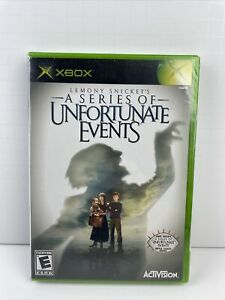 NEW! Sealed - Lemony Snicket's A Series of Unfortunate Events - Original Xbox