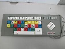 BigKeys Plus Large Color Button Learning Wired Keyboard PS/2 Big Keys LEWKB48-1