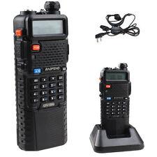 3800mAh BAOFENG UV-5R  Dual Band VHF/UHF Two Way Ham Radio Walkie Talkie