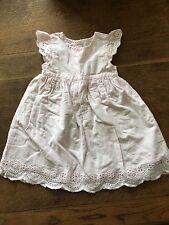 Pink Cap Sleeve Dress 3-6 Months Mothercare