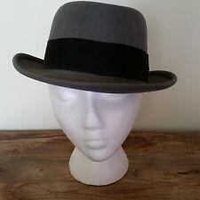 Vintage Gray Fedora Hat Size 6 7/8 - 7 Penneys Marathon