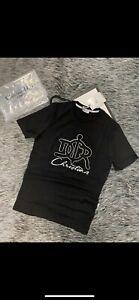 Dior T-Shirt Herren Grösse L Schwarz Super