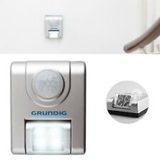 Luce Notturna Mini Lampada Sicurezza con Sensore Movimento 4 LED Direzionabili