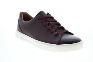 Clarks Un Costa Lace 26144907 Mens Burgundy Lifestyle Sneakers Shoes