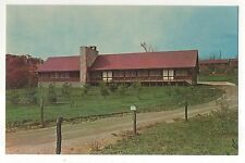 Albright Lodge at Camp Otterbein, Hocking Hills, LOGAN OH, Vintage Ohio Postcard