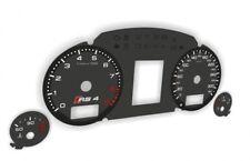 Tachoscheibe Audi A4 RS4 B6 B7 MPH KMH Tacho replacement dial gauges indicatori