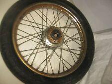 "TRIUMPH 650 750 front Wheel Rim 19"" 1960'S -early 1970'S"
