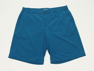 Nike Golf Dri-Fit Performance Blue Woven Tour Golf Shorts Mens 38