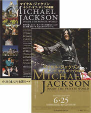 Michael Jackson Prospectus MJ COMMEMORATED Movie Leaflet Flyer JAPAN PROMO 2010