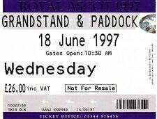 Ticket - Royal Ascot 18.06.1977 Grandstand & Paddock