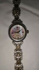 Clarissa Damen Armbanduhr Silber 925