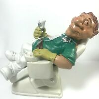 Surgical Dentist Dental Doctor Tooth Teeth Figurine Medical Lap Art Clinic Decor