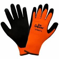Global Glove 378Int-M Ice Gripster-High-Viz Water Repellent Low Temp Gloves 1Doz