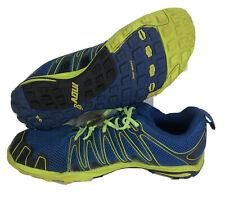 Inov-8 Trailroc 245 Men Size 8 Women Size 9.5 Shoes Barefoot Trail Running Blue