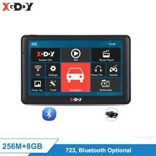 "XGODY 723 7"" Navigator Car Truck GPS Navigation Bluetooth 256M 8GB Sat Nav Rear"