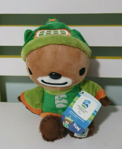 VANCOUVER 2010 PARALYMPIC WINTER GAMES OLYMPICS MASCOT PLUSH TOY SUMI 24CM!