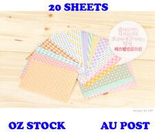20 sheets Polaroid Photo Deco Sticker Fuji Film Instax Mini Instant 8 7S 25 50S