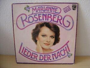 """LP Vinyl Marianne Rosenberg """"Lieder der Nacht"""" 1976  PHILIPS 530533518"""