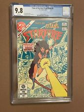 Tales of the New Teen Titan Starfire 4 CGC 9.8 White Pages