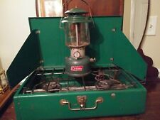 Coleman 2 Burner Tailgate/Camping Compact Propane Grill.And Coleman lanter