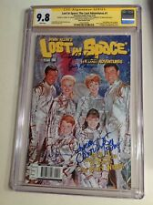 CGC 9.8 SS Lost in Space #1 Photo Variant signed by Mumy, Cartwright & Kristen