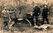 ANTIQUE DEER HUNTING REPRODUCTION PHOTO SAVAGE MODEL 99 RIFLES WINCHESTER