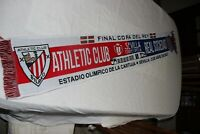 BUFANDA FINAL COPA DEL REY DEL 3-4-2021 ATHLETIC DE BILBAO Y REAL SOCIEDAD